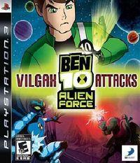 Portada oficial de Ben 10 Alien Force: Vilgax Attacks para PS3