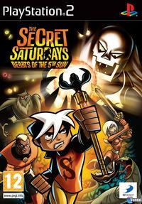 Portada oficial de The Secret Saturdays: Beasts of the 5th Sun para PS2