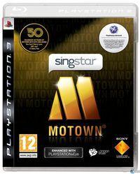 Portada oficial de SingStar: Motown para PS3