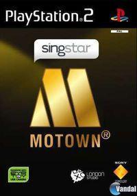 Portada oficial de SingStar: Motown para PS2