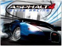Portada oficial de Asphalt 4 Elite Racing DSiWare para NDS
