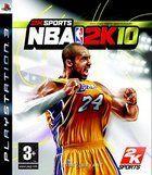 Portada oficial de de NBA 2K10 para PS3