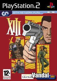 Portada oficial de XIII para PS2