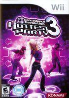 Portada oficial de de Dance Dance Revolution Hottest Party 3 para Wii