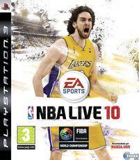 Portada oficial de NBA Live 10 para PS3