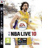 Portada oficial de de NBA Live 10 para PS3