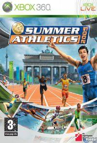 Portada oficial de Summer Athletics 2009 para Xbox 360