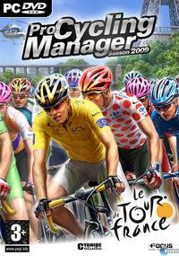 Portada oficial de Pro Cycling Manager 2009 para PC