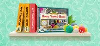 Portada oficial de 1001 Jigsaw. Home Sweet Home para PC