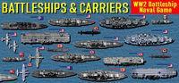 Portada oficial de Battleships and Carriers - WW2 Battleship Game para PC