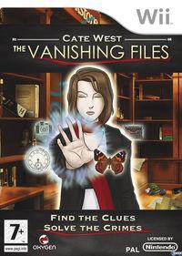 Portada oficial de Cate West: The Vanishing Files para Wii