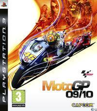 Portada oficial de MotoGP 09/10 para PS3