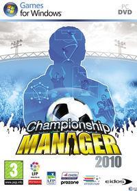 Portada oficial de Championship Manager 2010 para PC