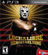 Portada oficial de Lucha Libre AAA Héroes del Ring para PS3