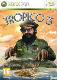 Portada oficial de Tropico 3 para Xbox 360