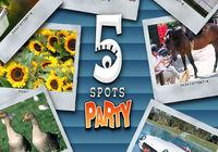 Portada oficial de 5 Spots Party WiiW para Wii