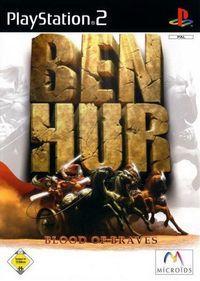 Portada oficial de Ben-Hur para PS2