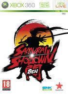 Portada oficial de de Samurai Shodown SEN para Xbox 360