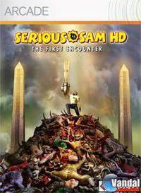 Portada oficial de Serious Sam HD XBLA para Xbox 360