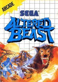 Portada oficial de Altered Beast Arcade CV para Wii