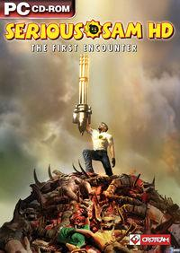 Portada oficial de Serious Sam HD: The First Encounter para PC