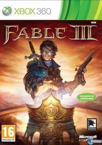 Portada oficial de Fable III para Xbox 360