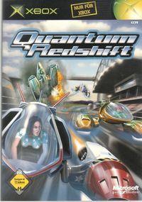 Portada oficial de Quantum Redshift para Xbox