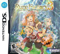 Portada oficial de Rune Factory 3 para NDS