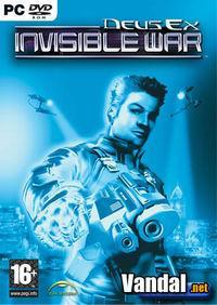 Portada oficial de Deus Ex: Invisible War para PC