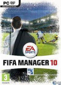 Portada oficial de FIFA Manager 10 para PC
