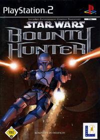 Portada oficial de Star Wars: Bounty Hunter para PS2