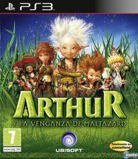 Portada oficial de Arthur and the revenge of Maltazard para PS3