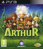 Portada oficial de de Arthur and the revenge of Maltazard para PS3