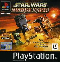 Portada oficial de Star Wars Demolition para PS One