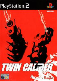 Portada oficial de Twin Caliber para PS2