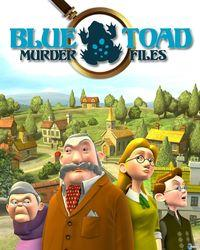 Portada oficial de Blue Toad Murder Files PSN para PS3
