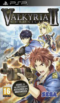Portada oficial de Valkyria Chronicles 2 para PSP