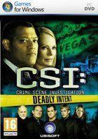 Portada oficial de de CSI: Crime Scene Investigation: Deadly Intent para PC