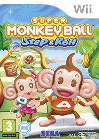 Portada oficial de Super Monkey Ball Step and Roll para Wii