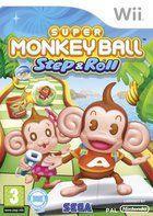 Portada oficial de de Super Monkey Ball Step and Roll para Wii