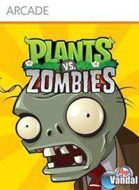 Portada oficial de Plants vs Zombies XBLA para Xbox 360