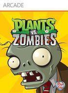 Portada oficial de de Plants vs Zombies XBLA para Xbox 360