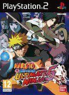 Portada oficial de de Naruto Shippuden: Ultimate Ninja 5 para PS2