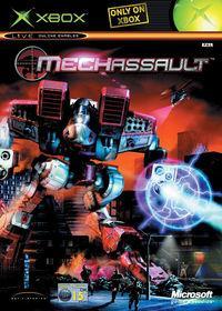 Portada oficial de MechAssault para Xbox