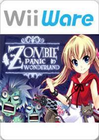 Portada oficial de Zombie Panic in Wonderland WiiW para Wii