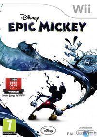 Portada oficial de Epic Mickey para Wii