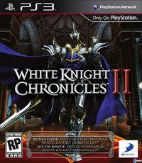 Portada oficial de White Knight Chronicles II para PS3