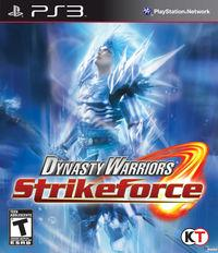 Portada oficial de Dynasty Warriors Strikeforce para PS3