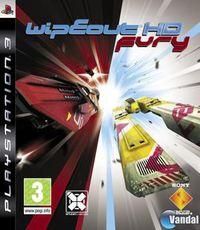 Portada oficial de Wipeout HD Fury para PS3