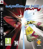 Portada oficial de de Wipeout HD Fury para PS3
